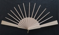 Fan Sticks To Fit Annabel pattern with Light Guard Sticks