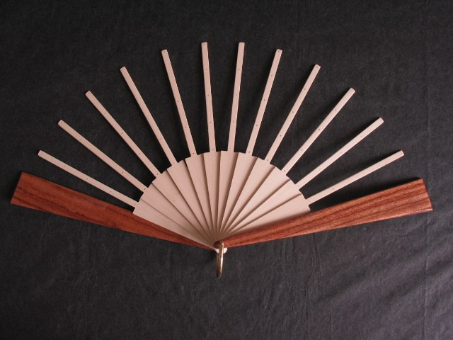 Fan Sticks To Fit Joan Kelly Patterns with Dark Guard Sticks