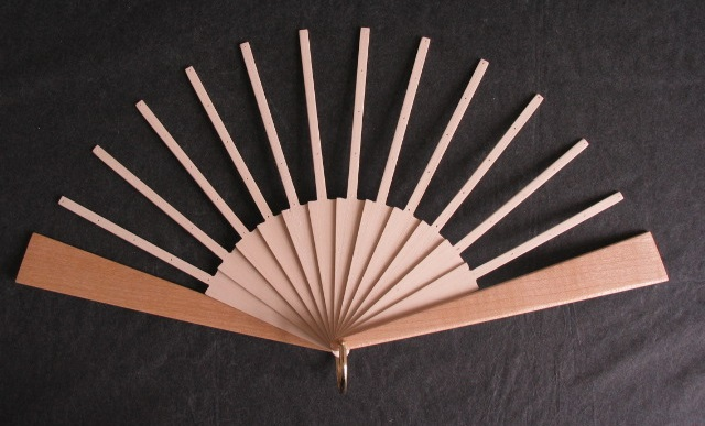 Fan Sticks To Fit Joan Kelly Patterns with Light Guard Sticks