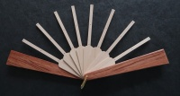 Fan Sticks To Fit Springett Mini Patterns A,B and D with Dark Guard Sticks