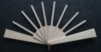 Fan Sticks To Fit Springett Mini Patterns A,B and D with Light Guard Sticks