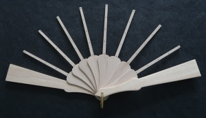 Fan Sticks To Fit Peacok pattern with Light Guard Sticks