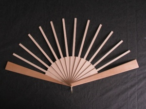 Fan Sticks To Fit Springett Large Patterns with Light Guard Sticks